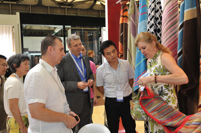 cci at intertextile shanghai home textiles trade show