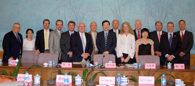 ncc leadership team trip to China