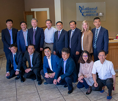 china national textile and apparel council delegation