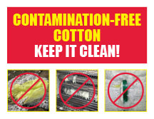 contamintation free cotton