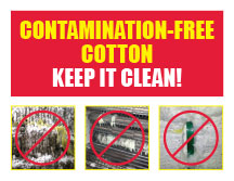 contamination free cotton