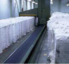 Opening of Cotton Bales