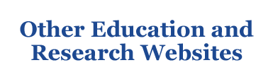 other education and research websites
